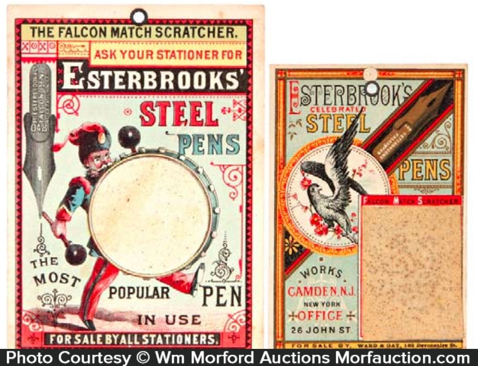 Esterbrook Pens Match Scratchers