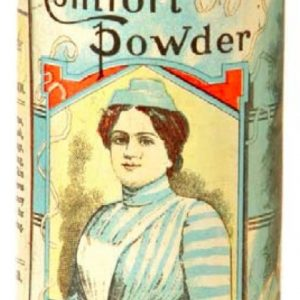 Comfort Powder Talc Tin