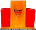 Bakelite Rheingold Beer Display