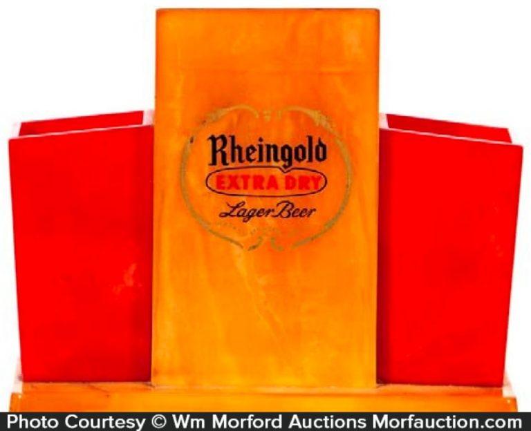 Bakelite Rheingold Beer Display