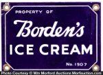Borden's Ice Cream Sign