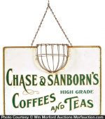 Chase & Sanborn Coffee String Holder