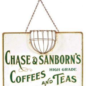 Chase & Sanborn Coffee String Holder