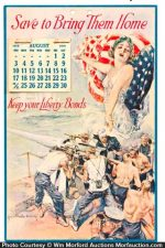 Liberty Bonds Calendar