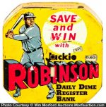 Jackie Robinson Dime Bank