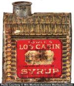 Log Cabin Sample Tin