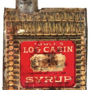 Log Cabin Sample Tin