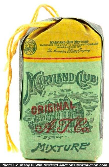 Maryland Club Tobacco Pouch