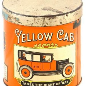 Yellow Cab Cigar Can