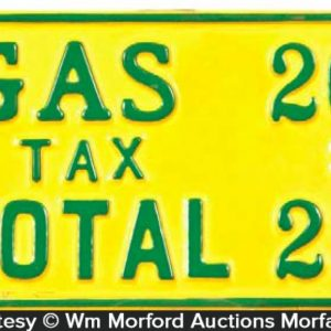 Gas Price Sign