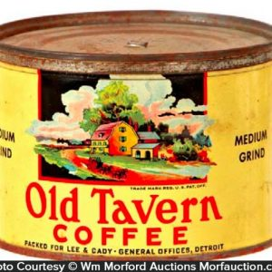 Old Tavern Coffee Can