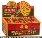 Universal Spark Plugs Display