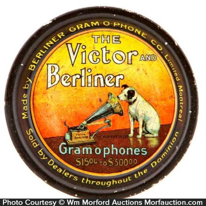 Victor Berliner Gramophones Tip Tray