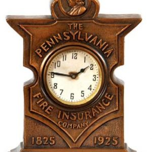 Pennsylvania Fire Insurance Clock