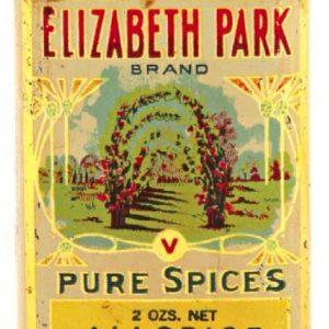 Elizabeth Park Spice Tin