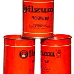 Oilzum Grease Cans