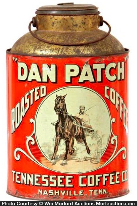 Dan Patch Coffee Pail