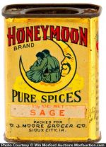 Honeymoon Spice Tin