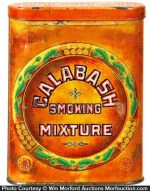 Calabash Pocket Tobacco Tin