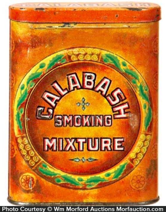 Calabash Pocket Tobacco Tin