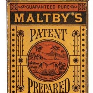 Maltby's Cocoanut Tin