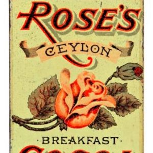 Rose's Cocoa Tin
