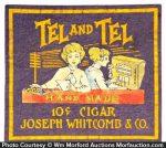 Tel and Tel Cigars Counter Felt