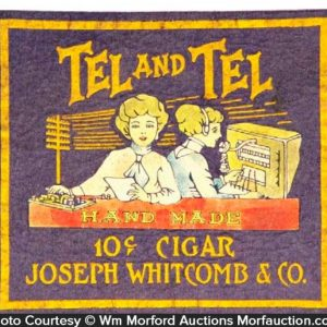 Tel and Tel Cigars Counter Felt