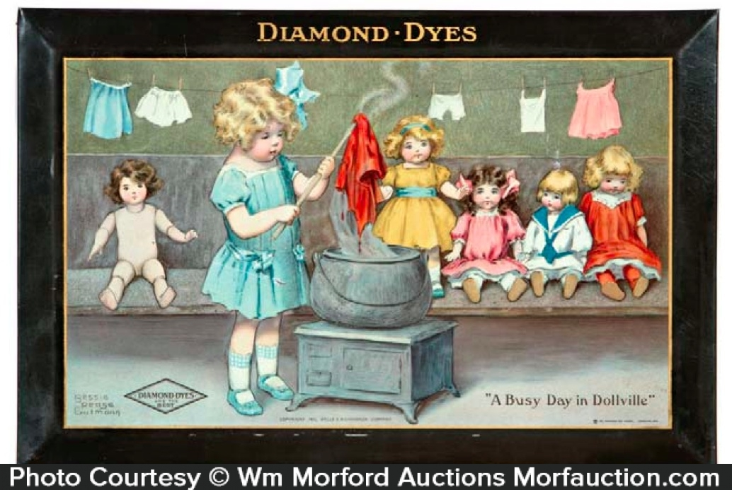 Diamond Dyes Sign