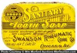 Sanitary Tooth Soap Tin
