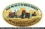 North Dakota Pocket Mirror