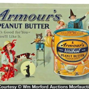 Armour's Peanut Butter Sign