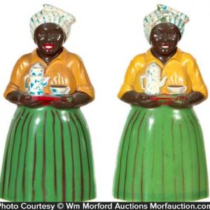 Luzianne Coffee Salt and Pepper Shakers