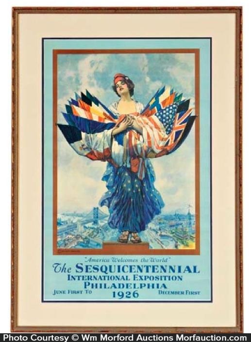 Philadelphia Exposition Poster