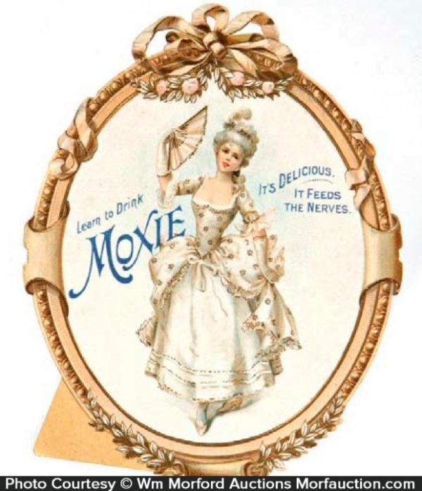 Moxie Stand Up Sign