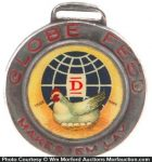 Globe Feeds Watch Fob