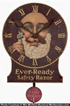 Ever-Ready Safety Razor Clock