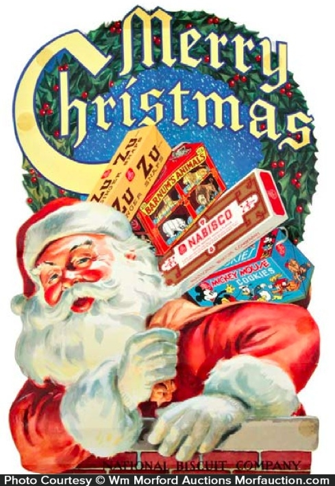 Nabisco Christmas Sign
