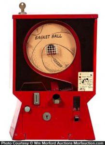 Basket Ball Gum Machine