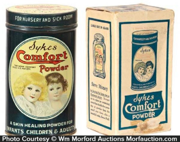 Syke's Comfort Powder Tin
