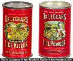 Dr. Legear's Lice Tin