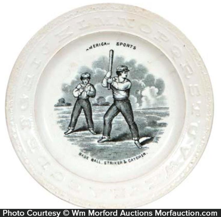 Baseball Abc Plate