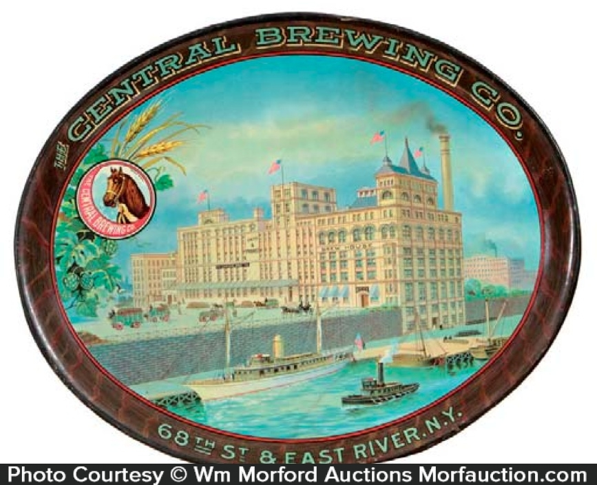 Central Brewing Company Tray