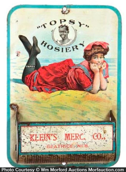 Topsy Hosiery Match Holder
