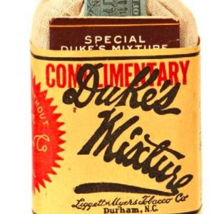 Duke's Tobacco Sample Pouch