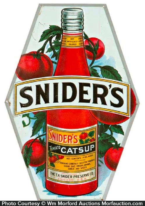 Snider's Catsup Sign