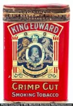 King Edward Tobacco Tin