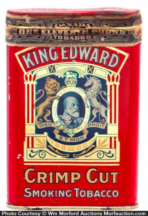 King Edward Tobacco Tin