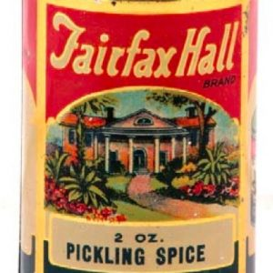 Fairfax Hall Spice Tin