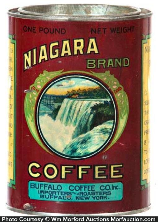Niagara Coffee Can